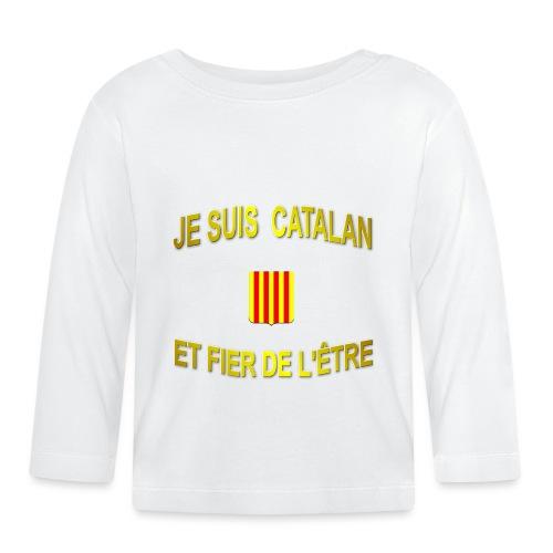 Tee-Shirt supporter du pays CATALAN - T-shirt manches longues Bébé