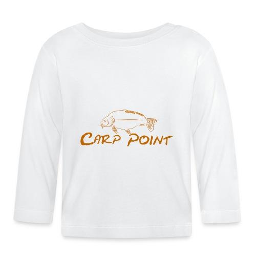 Carp-Point-orange-big - Baby Langarmshirt
