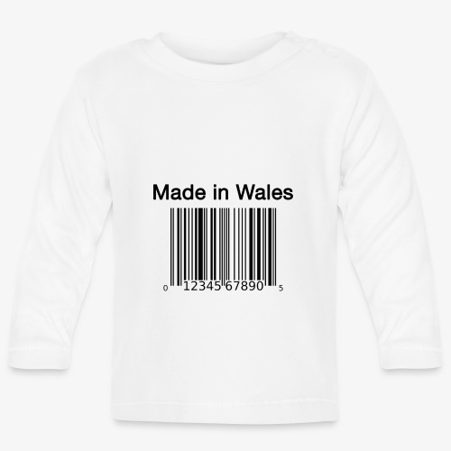 Made in Wales - Baby Long Sleeve T-Shirt