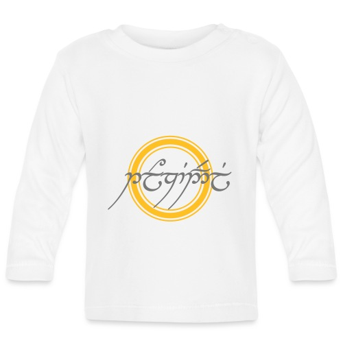 Tolkiendil en tengwar (écusson & dos) - T-shirt manches longues Bébé