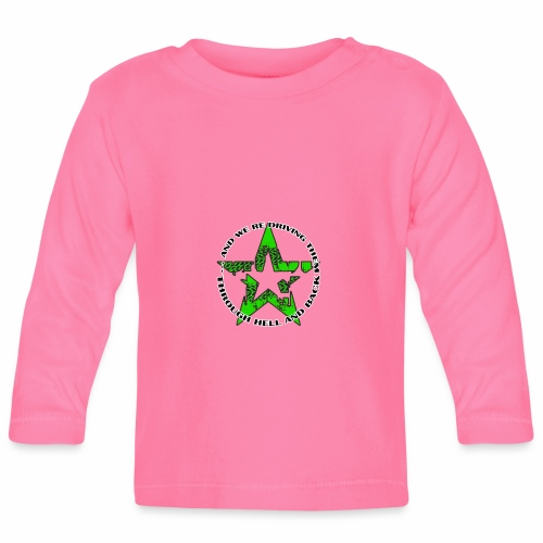 ra star slogan slime png - Baby Langarmshirt