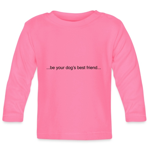 GoodBad svart CMYK (1) - Baby Long Sleeve T-Shirt