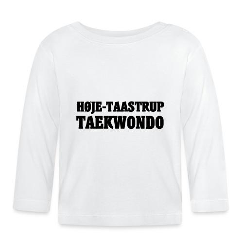 Høje-Taastrup Front Tryk - Langærmet babyshirt