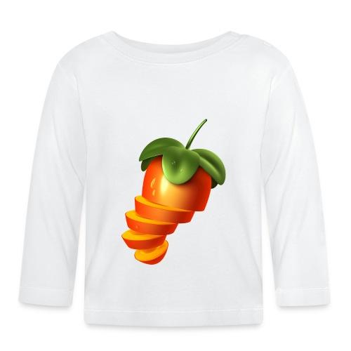 Sliced Sweaty Fruit - Baby Long Sleeve T-Shirt