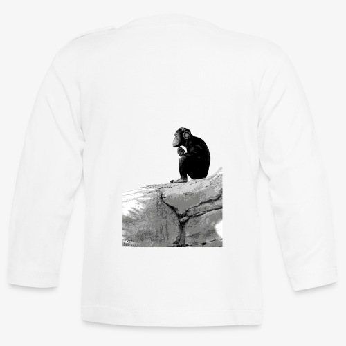 Music Monkey - Baby Long Sleeve T-Shirt