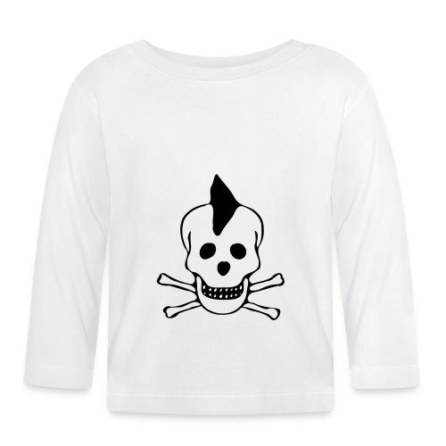 skull totenkopf punk - Baby Langarmshirt