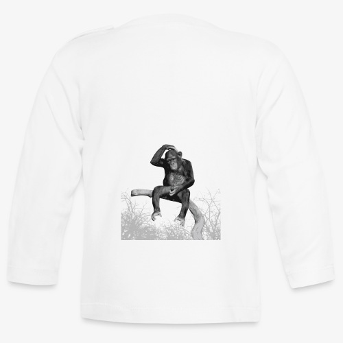 Monkey Music - Baby Long Sleeve T-Shirt