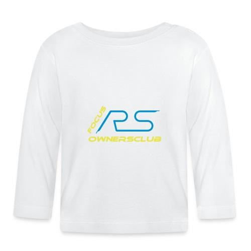logo focus rs ownersclub shirt cmyk - Baby Langarmshirt