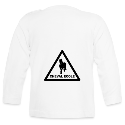 chevalecoletshirt - T-shirt manches longues Bébé