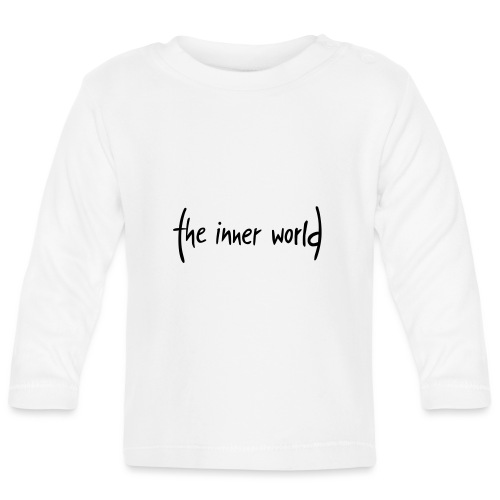 The Inner World Logo schwarz - Baby Langarmshirt