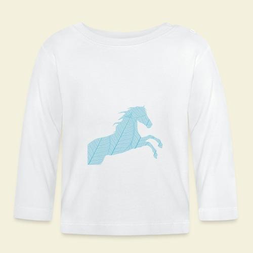 Cheval feuille - T-shirt manches longues Bébé