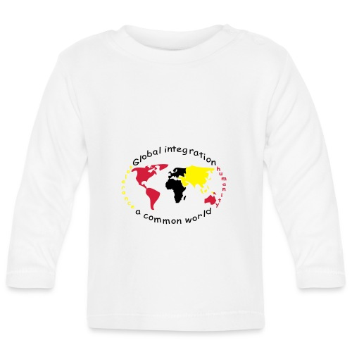 TIAN GREEN - Global Integration - Baby Langarmshirt