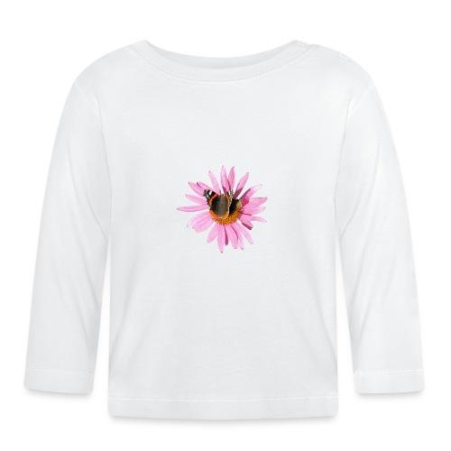 TIAN GREEN Garten - Sonnenhut Schmetterling - Baby Langarmshirt