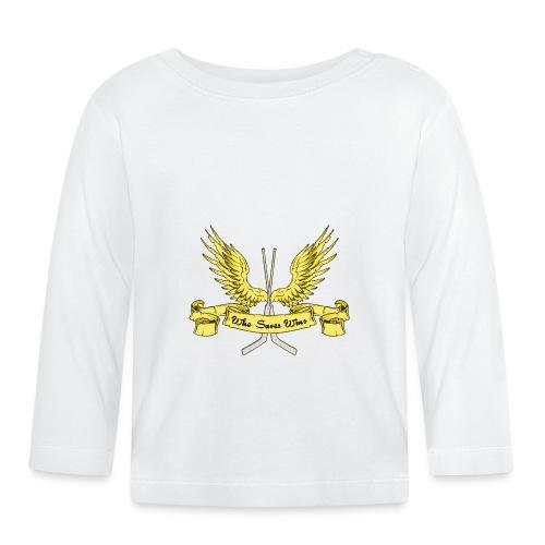 Who Saves Wins, Hockey Goalie - Baby Long Sleeve T-Shirt