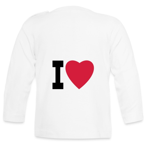 create your own I LOVE clothing and stuff - Baby Long Sleeve T-Shirt
