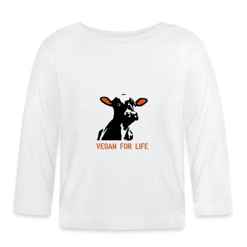 colorida vegan for life - Baby Langarmshirt