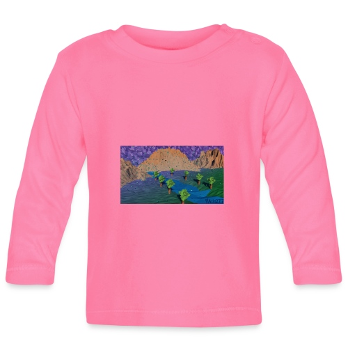 Silent river - Baby Long Sleeve T-Shirt