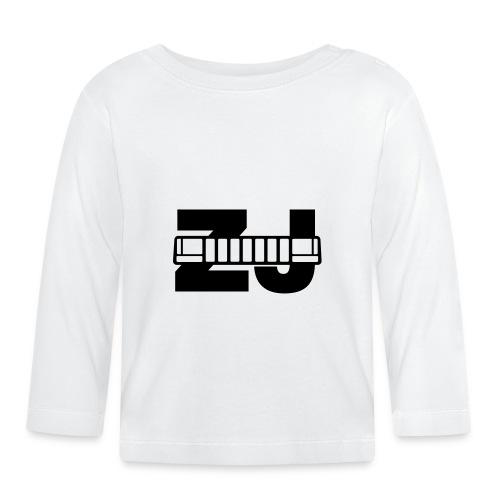 jeepcherokeezjfront02b - Langarmet baby-T-skjorte