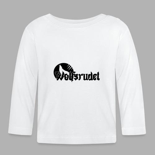Logo Wolfsrudel EPS - Baby Langarmshirt