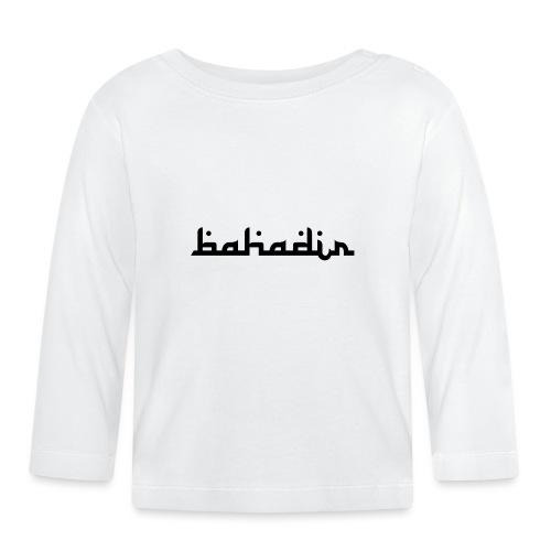 bahadir logo1 png - Baby Langarmshirt