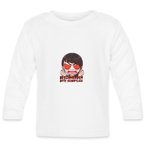 Beschwerden bitte schriftlich Cocolores - Baby Langarmshirt