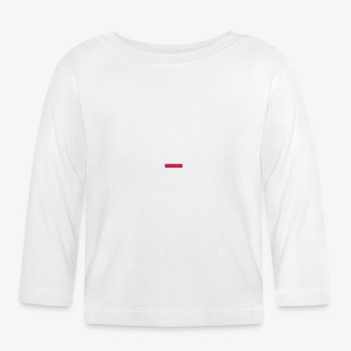 deplogo1neg red - Langarmet baby-T-skjorte