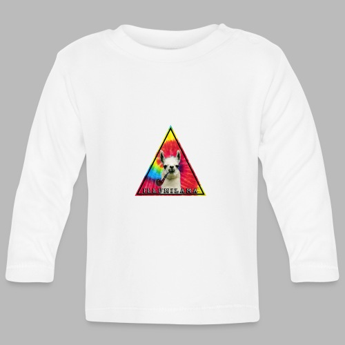 Illumilama logo T-shirt - Baby Long Sleeve T-Shirt