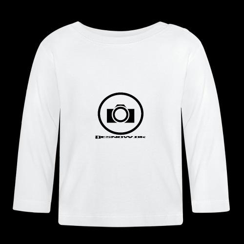 sort2 png - Langærmet babyshirt