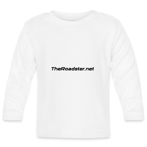 TheRoadster net Logo Text Only All Cols - Baby Long Sleeve T-Shirt