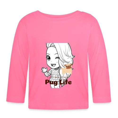 Miss Lopez Pug Life - Långärmad T-shirt baby