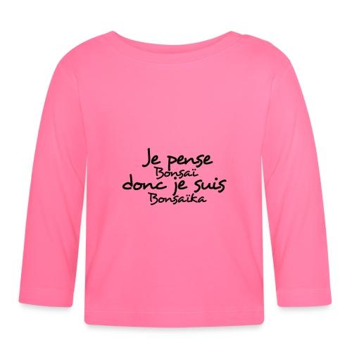 je_pense_donc_je_suis - T-shirt manches longues Bébé