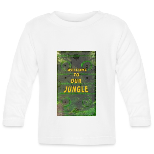 Welcome to our hockey jungle - Baby Langarmshirt