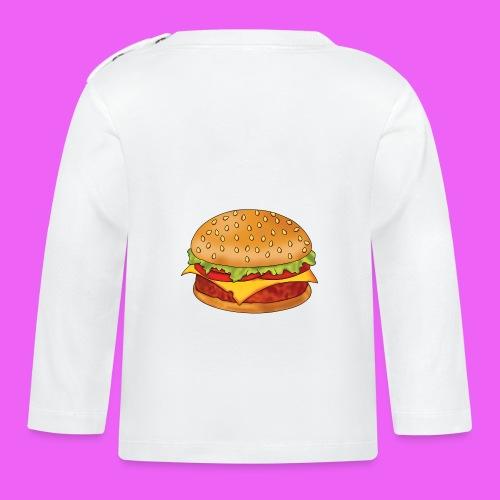 hamburguesa - Camiseta manga larga bebé