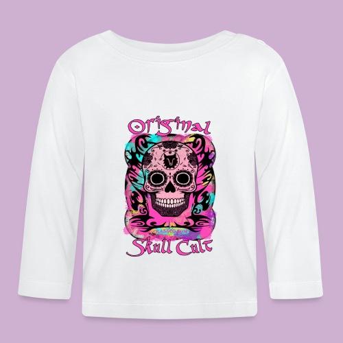 ORIGINAL SKULL CULT PINK - Baby Langarmshirt