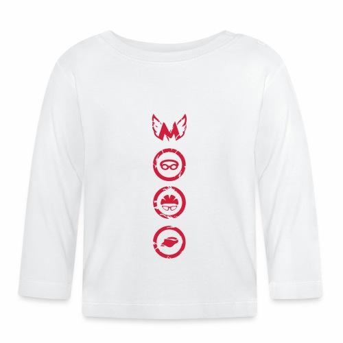 Mosso_run_swim_cycle - Maglietta a manica lunga per bambini