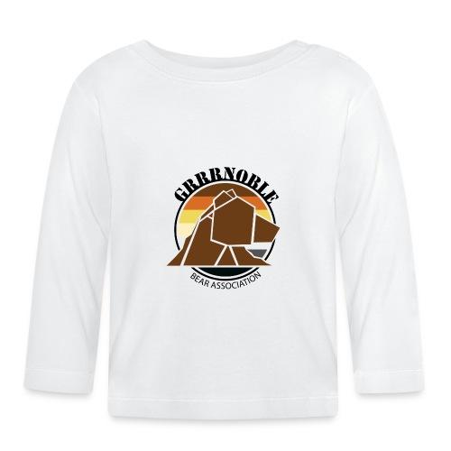 Logo 1 GRRRNOBLE BEAR ASSOCIATION - T-shirt manches longues Bébé