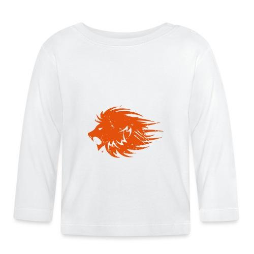 MWB Print Lion Orange - Baby Long Sleeve T-Shirt