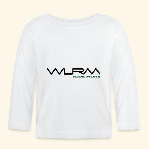 WLRM Schriftzug black png - Baby Langarmshirt