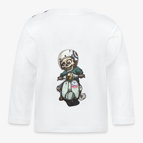Skullterist + Vintage Logo - Baby Langarmshirt