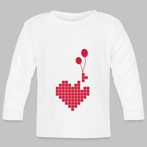 heart and balloons - Baby Long Sleeve T-Shirt