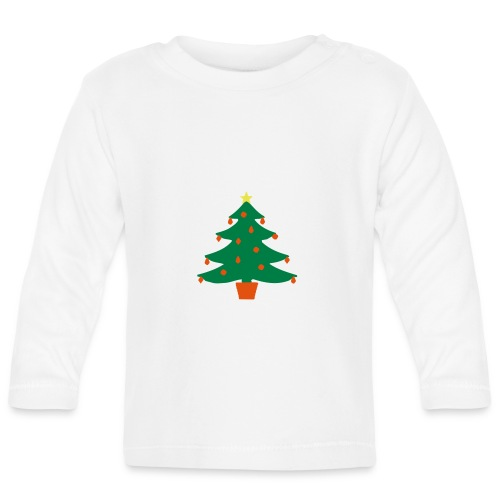 Christmas Tree - Baby Long Sleeve T-Shirt