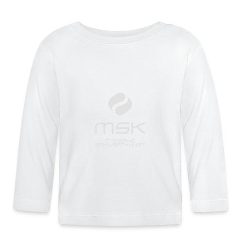Logo_mit_schrift_2zeilig_ - Baby Langarmshirt