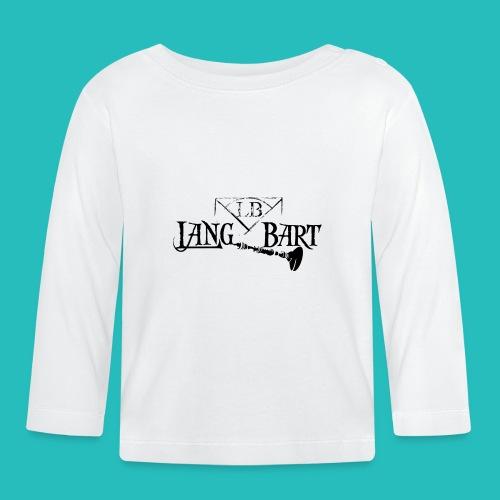 Logo-BN - Maglietta a manica lunga per bambini