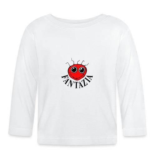 2 Colour Fantazia Smiley Face - Baby Long Sleeve T-Shirt