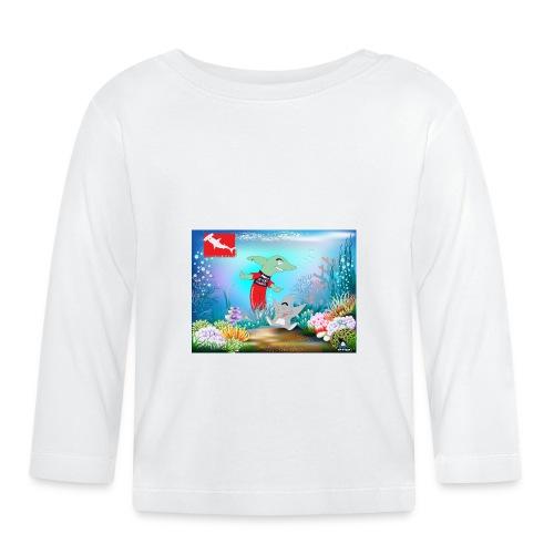 jesuis sharkie jpg - Camiseta manga larga bebé