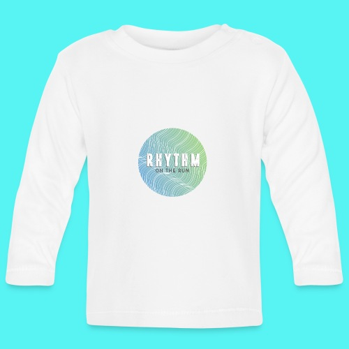 Rhythm On The Run Logo - Baby Long Sleeve T-Shirt
