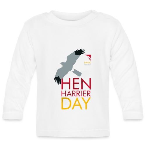 Hen Harrier Day T-Shirt - Baby Long Sleeve T-Shirt