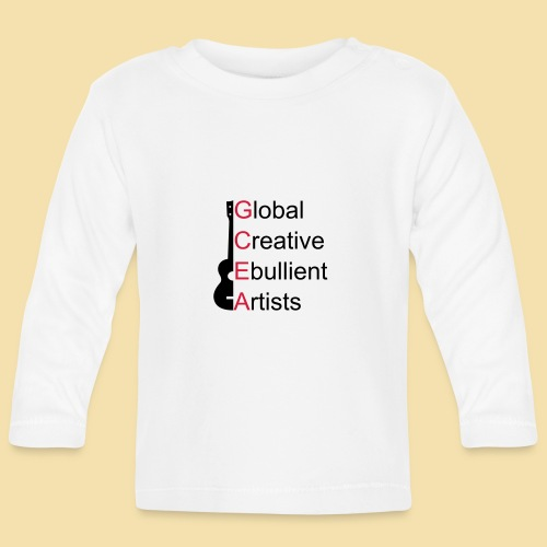 GCEA Global Creative Ebullient Artists - Baby Langarmshirt