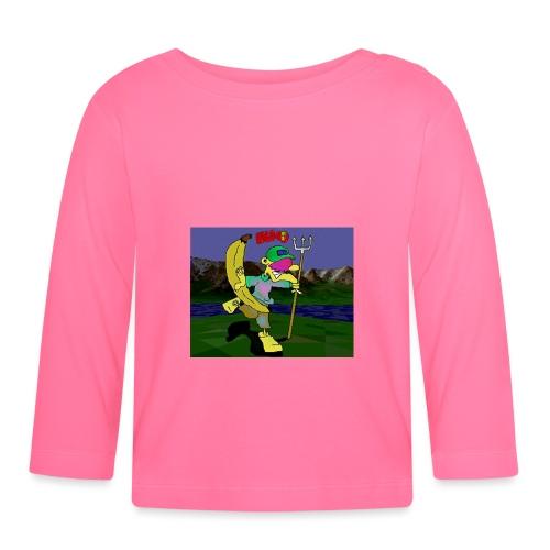 Bruno II - Langarmet baby-T-skjorte