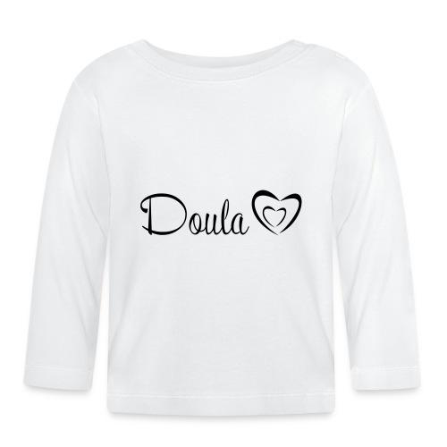 doula polkuna sydämet - Vauvan pitkähihainen paita